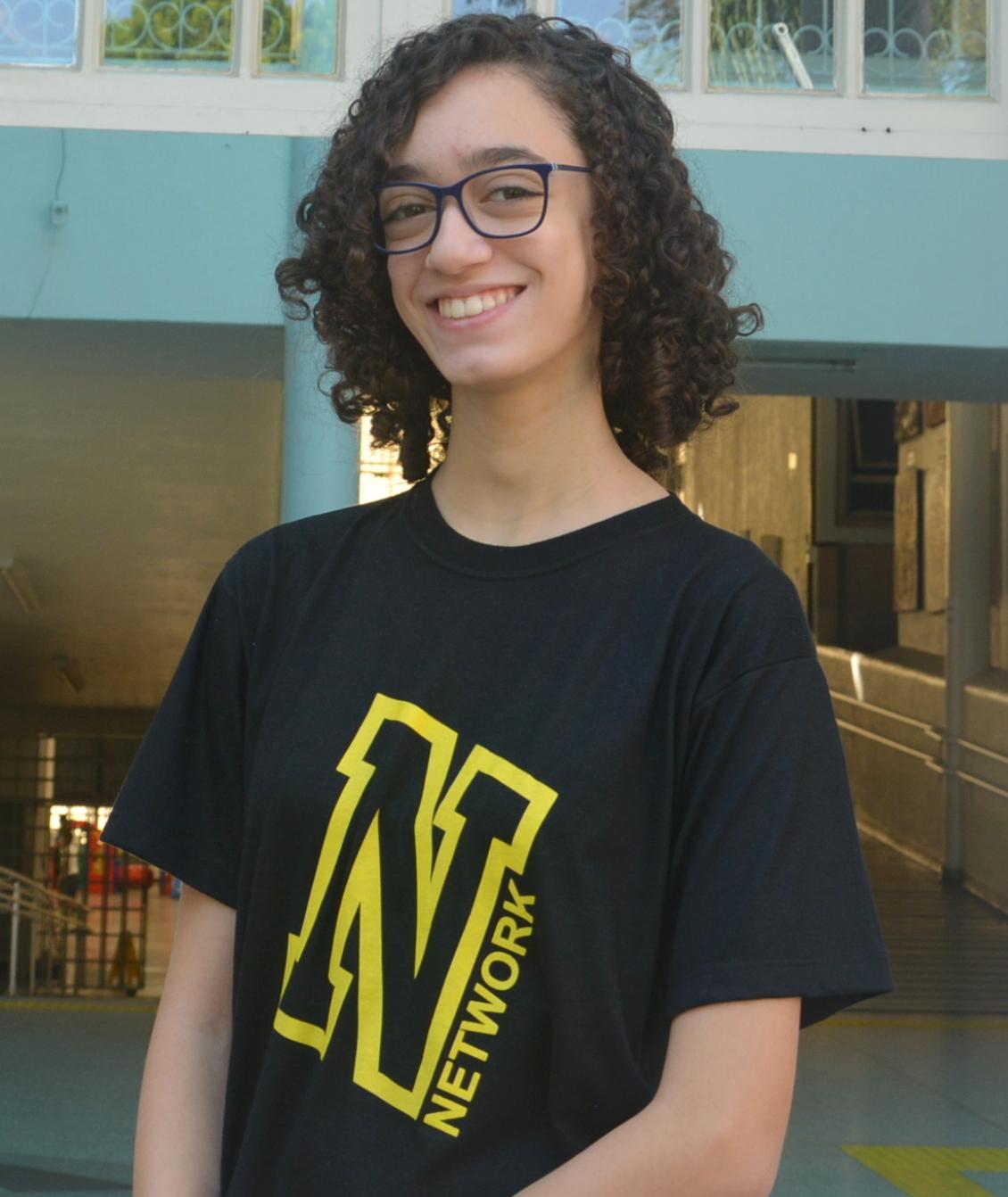 Sofia Tognella pretende se formar em Bilogia